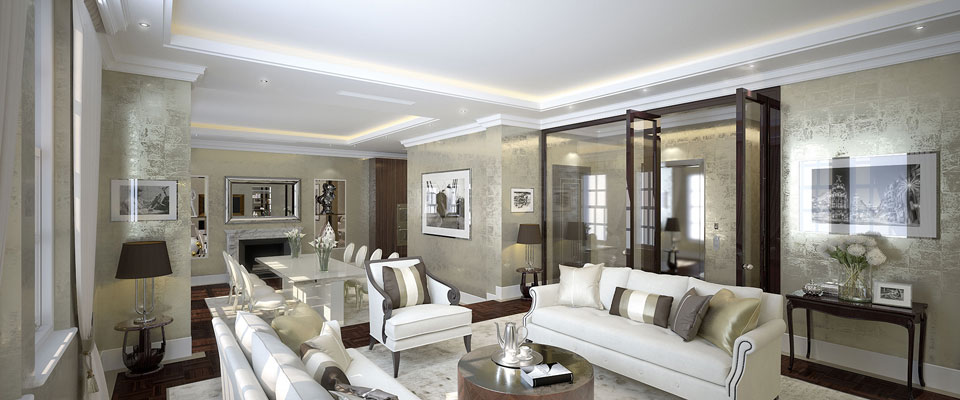 Peter lind company private clients london for Interior design companies in london uk